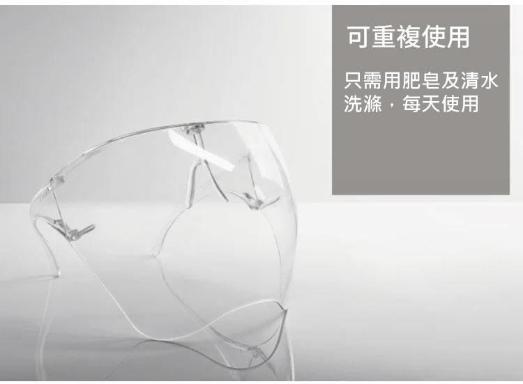 【防疫商品】防爆高清防護面罩35