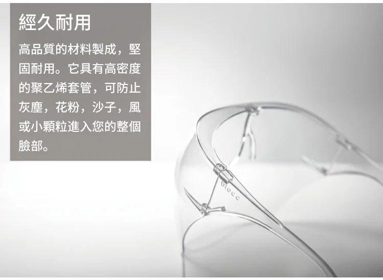 【防疫商品】防爆高清防護面罩36